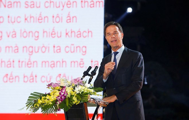 Dutch Prime Minister wraps up official visit to Vietnam